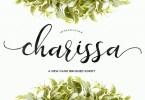 Charissa Script [1 Font] | The Fonts Master