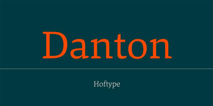 Danton [14 Fonts]   The Fonts Master