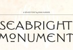 Seabright Monument [1 Font] | The Fonts Master