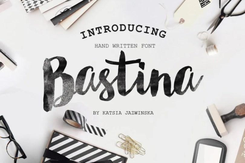 Bastina [1 Font] | The Fonts Master
