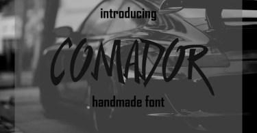 Comador [1 Font] | The Fonts Master