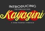 Kayagini [1 Font] | The Fonts Master