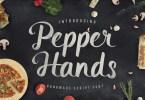 Pepper Hands Script [1 Font] | The Fonts Master
