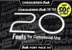 Ink Font Pack 4 [20 Fonts] | The Fonts Master