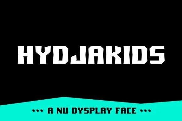 Hydjakids [1 Font | The Fonts Master