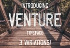 Venture [3 Fonts] | The Fonts Master