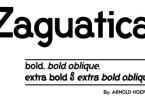 Zaguatica [4 Fonts] | The Fonts Master