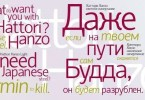 Hattori Hanzo [2 Fonts] | The Fonts Master