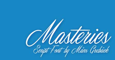 Masterics [1 Font] - The Fonts Master