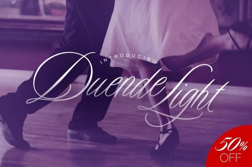 Duende Light [1 Font] | The Fonts Master
