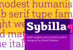 Sybilla [16 Fonts] | The Fonts Master