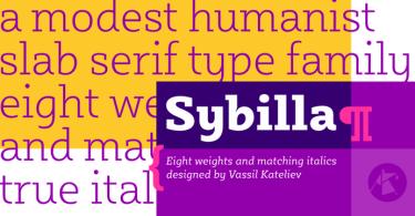 Sybilla [16 Fonts] | The Fonts Master