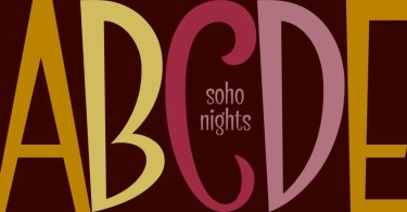Soho Nights Bf [1 Font] | The Fonts Master
