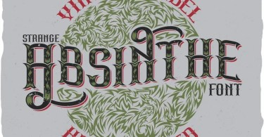 Strange Absinthe [5 Fonts] | The Fonts Master