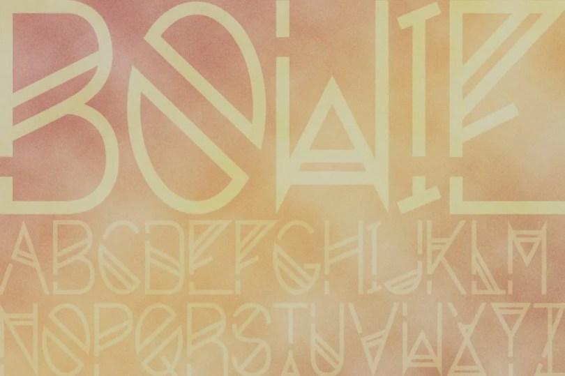 Bowie Sans [1 Font] | The Fonts Master