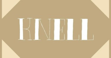 Knell [1 Font] - The Fonts Master