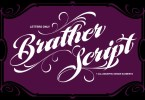 Mcf Brather Script [1 Font + Extra] | The Fonts Master