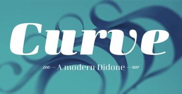 Curve [10 Fonts] | The Fonts Master