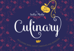 Culinary [10 Fonts] | The Fonts Master