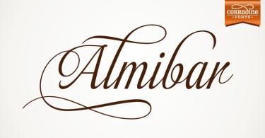 Almibar [4 Fonts] | The Fonts Master