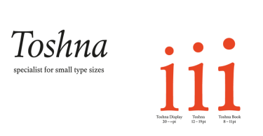 Toshna [9 Fonts] | The Fonts Master