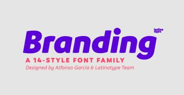 Branding Super Family [14 Fonts]