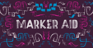 Marker Aid [2 Fonts]   The Fonts Master
