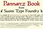 Pannartz [1 Font] | The Fonts Master