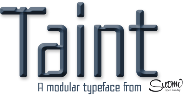Taint [1 Font] | The Fonts Master