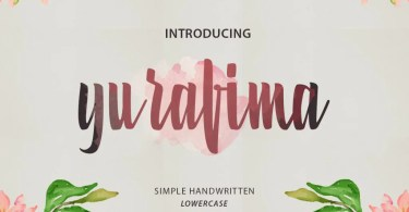 Yurafima [1 Font] | The Fonts Master