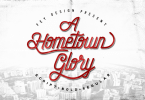 Hometown [5 Fonts] | The Fonts Master
