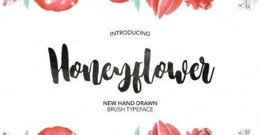 Honeyflower [1 Font] | The Fonts Master