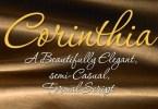 Corinthia [6 Fonts] | The Fonts Master