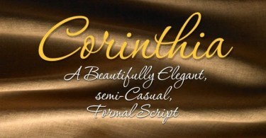 Corinthia [6 Fonts]   The Fonts Master