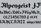 Alpengeist Jf [1 Font] | The Fonts Master