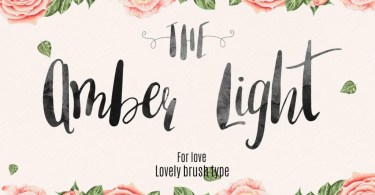 The Amber Light [3 Fonts] | The Fonts Master