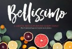Bellissimo Typeface + Minimal Logos [1 Font + Extras] | The Fonts Master