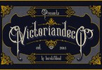 Victoriandeco [2 Fonts] | The Fonts Master