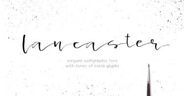 Lancaster [1 Font] | The Fonts Master