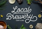 Local Brewery [2 Fonts + Extras] | The Fonts Master