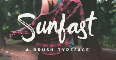 Sunfast [1 Font] | The Fonts Master