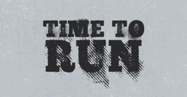 Wg Time To Run [1 Font] | The Fonts Master