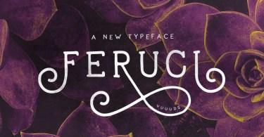 Feruci [2 Fonts]