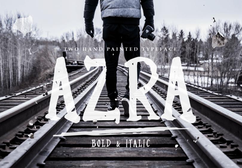 Azra [2 Fonts]   The Fonts Master