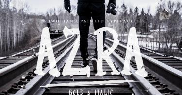 Azra [2 Fonts] | The Fonts Master