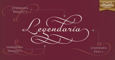 Legendaria [17 Fonts]   The Fonts Master
