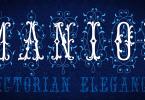 Mfc Manoir Monogram [3 Fonts] | The Fonts Master