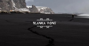 Blanka [1 Font] | The Fonts Master