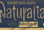 Naturalia [13 Fonts] | The Fonts Master