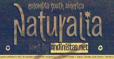 Naturalia [13 Fonts]   The Fonts Master